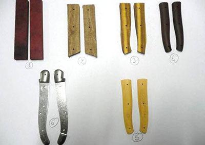 Manches de couteau