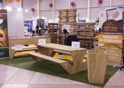Salon exposition mobilier bois
