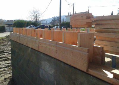 La brique en bois
