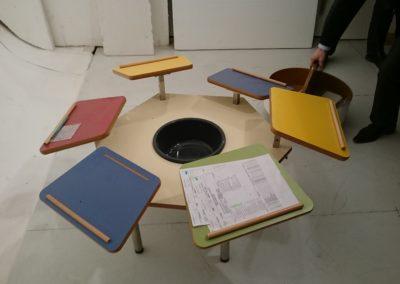 Une table multi-activités